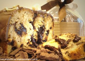 Mistura Panetone 10Kg Chocolate